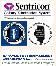 Sentricon, Indiana Pest Management Association, Community for the Protection of Health, National Pest Management Association